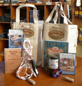 Splicing kit with rigger's bag and instructional books